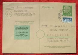 (1045842) Postkarte Heuss U. Notopfer 1956, Siehe Bitte Bilder - BRD