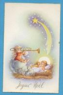 Joyeux   Noël    Ange Jouant Du Trombone - Sonstige