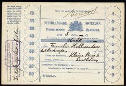A2438) Niederlande Netherlands Postanweisung Money Order - 1891-1948 (Wilhelmine)