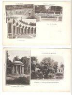2 Tarjetas Postales Versailles. - Otros Monumentos