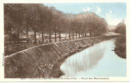 Pontailler-sur-Saône - Place Des Marronniers - France