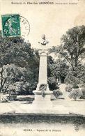 Reims - Square De La Mission - Monument De Charles ARNOULD - Chavalliaud Sculpteur - Reims