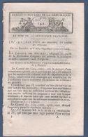 BULLETIN DES LOIS AN V - TRIBUNAUX - MISES HORS LA LOI - PENSIONS - CONSPIRATION ROYALISTE / COUP D'ETAT DU 18 FRUCTIDOR - Gesetze & Erlasse