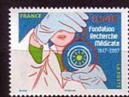 2007-N°4106** RECHERCHE MEDICALE - Francia