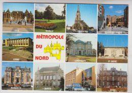 CPM DPT 59 COMMUNAUTE URBAINE DE LILLE ROUBAIX TOURCOIN ET ENVIRONS, MULTIVUES - Lille