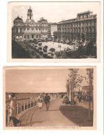 2 Tarjeta Postales La Baule Sur Mer Y Lyon. - La Baule-Escoublac