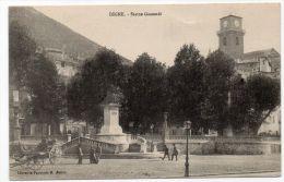 DIGNE (04) - STATUE GASSENDI - Digne