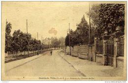 77- COMBS-la-VILLE- Avenue Du Chemin De Fer- En L´état - Combs La Ville