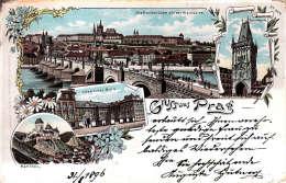 Grüss Aus Praag 31.8.1896 ??? - Non Classés