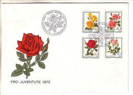 GOOD SWITZERLAND FDC 1972 - PRO JUVENTUTE - Pro Juventute
