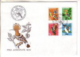 GOOD SWITZERLAND FDC 1970 - PRO JUVENTUTE - Pro Juventute