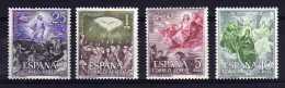 Spain - 1962 - Mysteries Of The Rosary (Airmails) - MNH - 1931-Aujourd'hui: II. République - ....Juan Carlos I