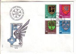 GOOD SWITZERLAND FDC 1978 - PRO JUVENTUTE - Pro Juventute