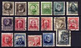 Spain - 1931/38 - Definitives (Part Set, Perf 11½, No Control Numbers) - Used - 1931-Aujourd'hui: II. République - ....Juan Carlos I