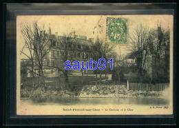 Saint Florent Sur Cher -  Le Château Et Le Cher  -   Réf: 29893 - Saint-Florent-sur-Cher