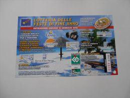 REPUBBLICA DI SAN MARINO - LOTTERIA DELLE FESTE  DI FINE ANNO 2012 - Publicité