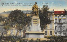 Anvers -  Monument Du Peintre Antonio Van Dyck - Antwerpen