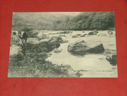 "AMBLEVE -    Vallée De L´Amblève -    "" Fonds De Quarreux ""  -  1922  - (2 Scans) - Amel"