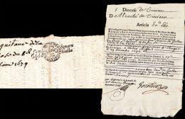 Généralité De  Montpellier 1679 - Manuscrits