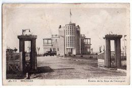Bourges, Entrée De La Gare De L'aéroport, Camion, C.A.P. N° 113, Plis Et Taches - Bourges