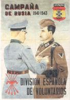 CAMPAÑA DE RUSIA 1941-1943 - BLANES GERONA ESPAÑA CUPONES DE RACIONAMIENTO - [ 3] 1936-1975 : Regency Of Franco