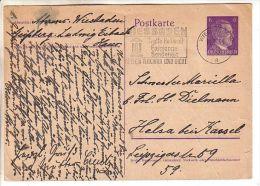 GOOD DEUTSCHES REICH Postcard With Original Stamp 1944 - Entiers Postaux
