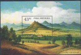 2009  Rép TCHEQUE BF 35** Volcans - Tchéquie