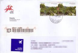 Cover / Lettre - Portugal - Levadas - Madeira - Trekking - Madère