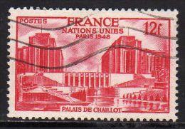 FRANCE : N° 818 Voblitéré (Nations Unies, à Paris) - PRIX FIXE - - Francia