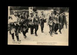 MILITARIA - GUERRE 14-18 - Prisonniers Allemands à La Ferté Gaucher - Guerre 1914-18