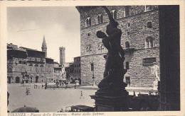 Italy Firenze Piazza della Signoria Ratto delle Sabine