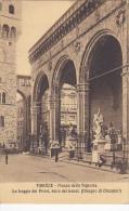 Italy Firenze Piazza della Signoria La Loggia dei Priori della b