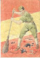INJUSTICIA SOCIAL - F.A.I. - BOLCHEVISMO MASONES - ALHAURIN EL GRANDE MALAGA AÑO 1942 FALANGE ESPAÑOLA - Andere