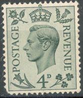 Great Britain  1938   4p  MH  Scott#241 - 1902-1951 (Re)