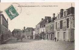 MARTIGNE FERCHAUD (I ETV) 5034 LA PLACE DE L'EGLISE COTE SUD  1915 - Other Municipalities