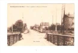 CPA : 91 - Essonne - Sainte Geneviève Des Bois : Pont à Cylindre Et  Rue De La Princesse - Peu Commune - Sainte Genevieve Des Bois