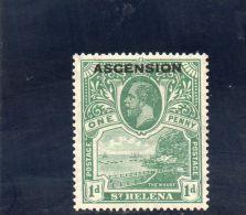 ASCENSION 1922 * - Ascension (Ile De L')