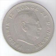 DANIMARCA 1 KRONE 1963 - Danimarca