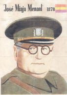JOSE MIAJA MENANT LAMINA COMPLETA DE CUPONES DE RACIONAMIENTO OVIEDO - [ 3] 1936-1975 : Régence De Franco