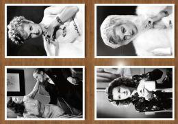 F-i-l-m-s-t-a-r Joan Bennett C-a-r-d-s X12 - Otros
