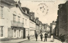 76 ST / SAINT SAENS - RUE DU GRAND BOURG ( ANIMEE ) - Saint Saens
