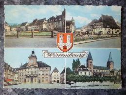 WISSEMBOURG (67).MULTIVUES.CIRCULE 1962.QUAI ENSELMANN ET AUTRES VUES DE LA VILLE. - Wissembourg