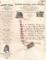 ANGLETERRE - BELLE FACTURE MARSHALL -GAINSBOROUGH- MACHINES AGRICOLES PUITS ARTESIEN-POMPES-1897 - United Kingdom