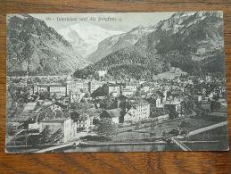INTERLAKEN Und Die JUNGFRAU ( 551 ) - Anno 1909 ( Zie Foto Details ) !! - BE Berne