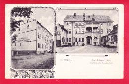 E-Allemagne-614P237  OHRDRUF, Carl Eduard Haus, Vaterländisches Soldatenheim, Voir Verso Cachets Militaires, Cpa - Allemagne