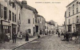 54 , Rosieres Aux Salines, Rue Gambetta - France