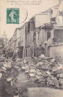 CPA SALON DE PROVENCE 13 TREMBLEMENT DE TERRE DU 11 JUIN 1909 LA RUE D AVIGNON DEMOLIE - Salon De Provence