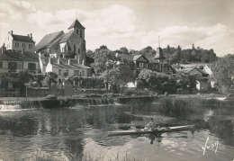 MONTIGNY Sur LOING Les Rives Du Loing Et La Vieille église - Autres Communes