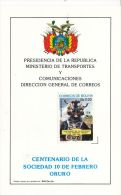 Mask, Ethno, Oruro,Diablada, PRESIDENCIA DE LA REPUBLICA,1985,Beautiful Condition - Bolivië