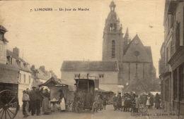 91 Limours. Un Jour De Marché - Limours